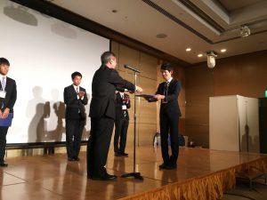M2関根北斗君,M1西井啓太君,宇宙科学技術連合講演会において学生優秀賞受賞