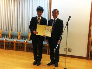 M2西井啓太君,日本航空宇宙学会 第49期年会講演会で優秀発表賞を受賞