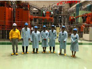 短期留学生との交流と核融合科学研究所での体験 (吉田・西浦研究室)
