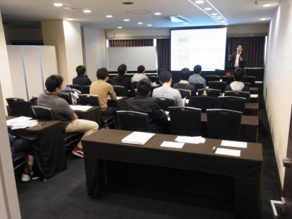 Entrance examination presentation in Hakata and Osaka on April 13th and 14th.