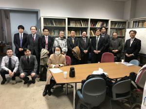 吉田先生と研究室OB