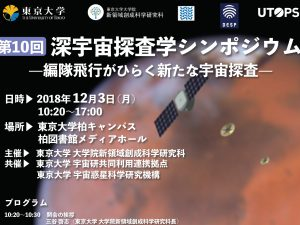 The 10th Symposium of Deep Space Exploration Science