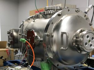 Days spent with a vacuum chamber